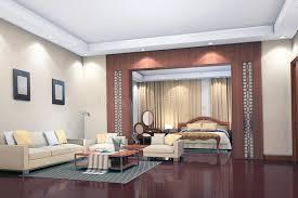chambre de sejour 3d rendent l intérieur moderne de la salle de séjour chambre à