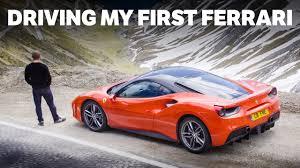 first ferrari driving my first ferrari 4k youtube