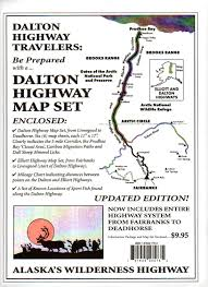 Wasilla Alaska Map by Dalton Highway Map Set