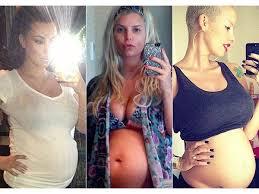 Kim Kardashian Pregnant Meme - bumpies see kim kardashian jessica simpson and amber rose s self