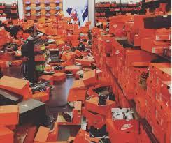 black friday el paso nike store trashed on black friday in shopping frenzy