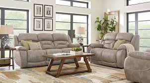 Recliner Living Room Set Manual Power Reclining Living Room Sets With Sofas