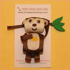 monkey ribbon 525 best hairbows ribbon sculptures images on ribbon