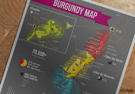 Wisconsin Winery Map by A Simple Guide To Burgundy Wine With Maps Wine Folly