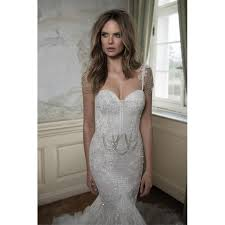 spaghetti wedding dress beautiful spaghetti straps lace and tulle mermaid wedding dress
