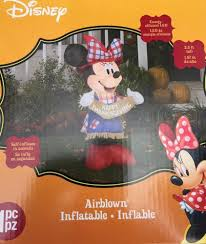 thanksgiving disney pictures new disney minnie mouse 3 8ft thanksgiving airblown inflatable