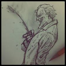 super villain sketches sketchy pictures