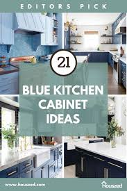 kitchen cabinet ideas 21 amazing blue kitchen cabinet ideas in 2021 houszed