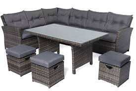 6 seater outdoor dining table black rattan garden dining table spurinteractive com