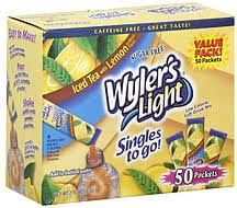 wyler s light singles to go nutritional information wyler s light singles to go low calorie sugar free value pack iced