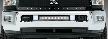 Dodge Ram Cummins Grill - t rex dodge ram pu 2500 3500 torch series led light grille