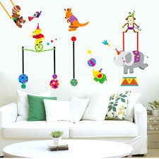 Circus Home Decor Babies Wall Decals Baby Nursery Wall Decor Baby Nursery Decor