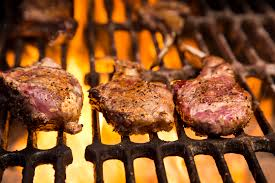 Rack Of Lamb On Grill Grilled Moroccan Mint Lamb Chops Recipe
