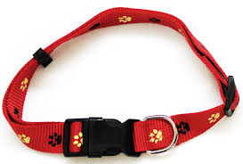 Comfortable Dog Collar Paw Print Series Collars Leashes U0026 Harness Iconicpet Com