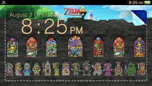 Creating A Vita Creating A Ps Vita Theme Legend Of Zelda Kakariko Village
