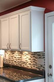 kitchen cabinet trim ideas molding for kitchen cabinets tops crown molding top vs light rail