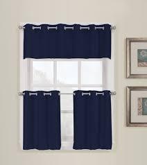 montego grommet tier curtain curtain u0026 bath outlet