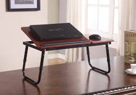 Bed Desk For Laptop by Getting Benefit From Metal Tv Tray Tables At Home