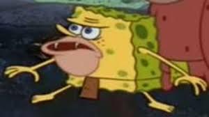 Spongbob Meme - spongegar primitive sponge caveman spongebob know your meme