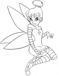 draw draw gothic tinkerbell hellokids