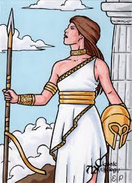 athena sketch card classic mythology picture athena sketch card