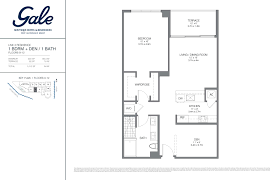 the gale floor plan gale boutique residences condo fort lauderdale fl new