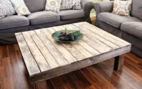 Square Wooden Coffee Table Large Square Wood Coffee Table Foter