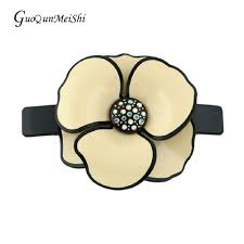 luxury hair accessories wholesale hair jewelry acetate cellulose hair clip prom for women