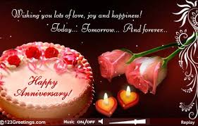 marriage anniversary greeting cards many many happy returns of the great day wish you both amit