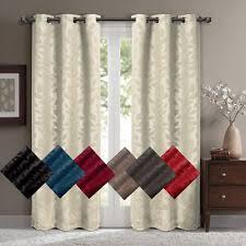Blackout Curtains Windows Floral With Blackout Curtains Drapes Valances Ebay