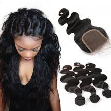 human hair extensions brazalian human hair extensions weave 3 bundles with 1