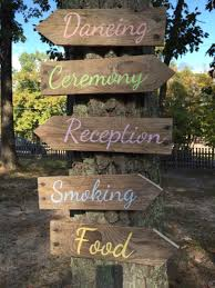 wedding arrow signs rustic wedding pallet directional arrows