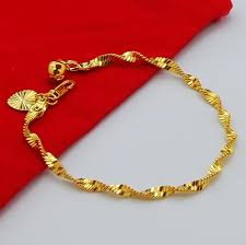 aliexpress buy fashion big size 18k gold plated men sell vacuum 24 k gold plated singapore chain bracelet beautiful