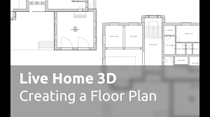 live home 3d tutorials creating a floor plan youtube