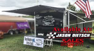 Enclosed Trailer Awning For Sale Race Shade Awnings Jason Dietsch Trailer Sales
