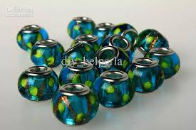diy glass bead bracelet images 2018 diy pandora glass beads handmade loose beads assorted color jpg