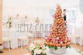 croquembouche french wedding cake