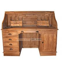 teak roll top desk teak roll top desk estu jati