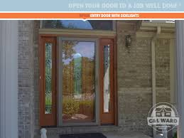 Patio Doors With Sidelights That Open Installed Windows U0026 Doors Projects Before U0026 After Gallery C U0026l Ward
