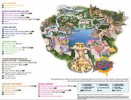 Orlando Florida Map by Island Of Adventure Mapa Disney 2016 Pinterest