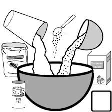 coloriage recette de cuisine recettes en classe exercices de lecture gs cp ce1 ce2 ulis à