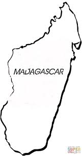 madagascar country coloring pages cartoon pictures