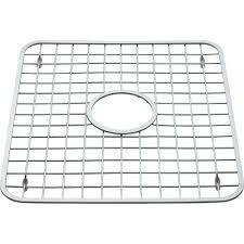 Kitchen Sink Rubber Mats Interdesign Sink Grid With Drain Hole 12 75