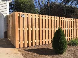 privacy fence types backyard fence ideas
