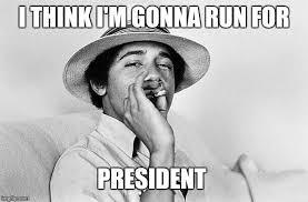 Memes About Smoking Weed - obama smoking weed meme generator imgflip