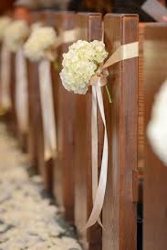 church pew decorations marriage convalidation hydrangea churches and wedding