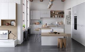 strada gloss modern light grey kitchen stori