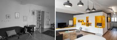le de bureau architecte rénovation d une appartement 3 pièces par un architecte d intérieur