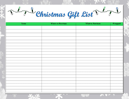 gift list ideas and this gift list