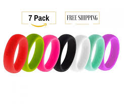rubber wedding rings 7 silicone wedding rings for women athletic wedding bands